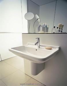 Раковина для ванной подвесная Duravit Starck 3 65х48.5х20 белая 0300650000