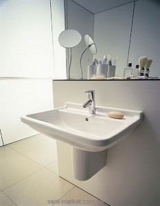 Раковина для ванной подвесная Duravit коллекция Starck 3 белая 0300650000