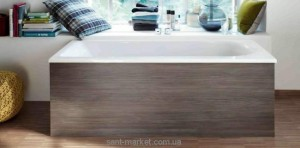 Ванна акриловая прямоугольная Duravit коллекция Darling New 160х70х48 L 700238000000