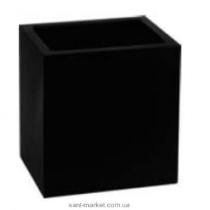 GESSI RETTANGOLO стакан для дозатора мыла черный 21090.031