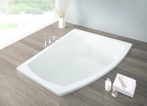 Ванна акриловая прямоугольная Hoesch коллекция Largo 180х130х64 R 3693