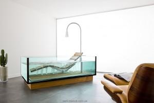 Ванна гидромассажная Hoesch коллекция Water Lounge 200х120х58 3704