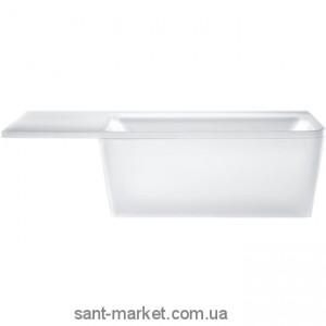 Ванна акриловая прямоугольная Hansgrohe Axor Citterio 170х92х68 39955000 + панель