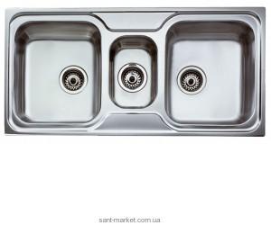 Мойка для кухни прямоугольная Teka CLASSIC 2 1/2 B, 2.5 чаши, врезная, нержавеющая сталь, хром 10119080