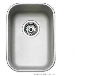 Мойка для кухни прямоугольная TEKA BE 28.40 (18) под столешницу, нержавеющая сталь, хром полированная 10125003