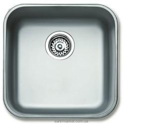Мойка для кухни квадратная Teka BE 40.40 (18) под столешницу, нержавеющая сталь, хром полированная 10125005