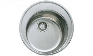 Мойка для кухни круглая Teka  Basico врезная, нержавеющая сталь, хром матовая 10124021