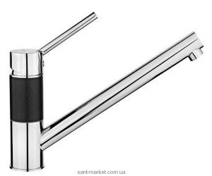 Смеситель для кухни Teka Aura L (AUK 913) однорычажный хром-черный металлик 509130217