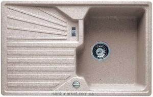 Мойка для кухни прямоугольная TEKA CASCAD 45B TG оборачиваемое крыло, врезная, гранит, алебастр 40143107