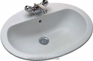 Раковина для ванной встраиваемая Jacob Delafon коллекция Visa белая Е1291-00