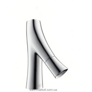 Смеситель для раковины двухвентильный Hansgrohe коллекция Axor Starck Organic хром 12110000
