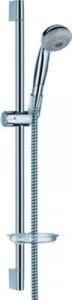 Душевой гарнитур со штангой Hansgrohe коллекция Crometta Unica'C с мыльницей хром 27746000