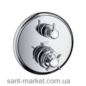 Смеситель с термостатом скрытый (встраиваемый) Hansgrohe коллекция Axor Montreux никель 16820820