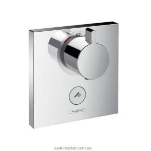 Смеситель для душа встраиваемый с термостатом Hansgrohe коллекция Shower Select хром 15761000