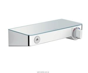 Смеситель для душа настенный с термостатом Hansgrohe Shower Tablet Select белый/хром 13171400