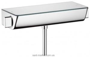 Смеситель для душа настенный с термостатом Hansgrohe Ecostat Select белый/хром 13162400