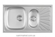 Metalac LUNA FLEX Кухонная мойка полированная 099204