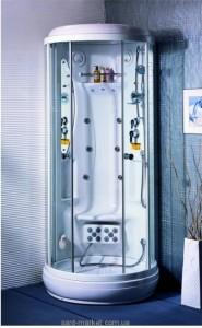 Гидробокс Appollo 100х100х223 низкий поддон TS-0840W