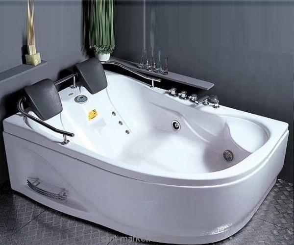 Ванна с гидро-аэро массажем акриловая угловая Appollo 180х125х66 АТ-929* левая