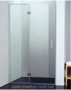 Душевая дверь в нишу Koller Pool WATERFALL LINE стеклянная распашная 120х185