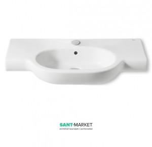 Раковина для ванной подвесная умывальник-столешница Roca коллекция Meridian-N белая A32724D000