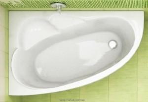 Ванна акриловая угловая Koller Pool коллекция Liona L 150х95х45