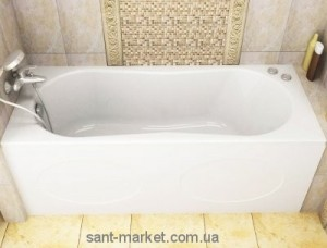 Ванна акриловая прямоугольная Koller Pool коллекция Delfi 150х70х41