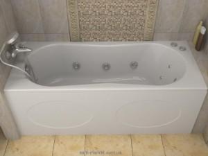 Ванна акриловая прямоугольная Koller Pool коллекция Malibu 150х70х42