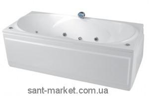 Ванна акриловая прямоугольная PoolSpa Gemini 180х80х57 PWPD910ZN000000 + ножки