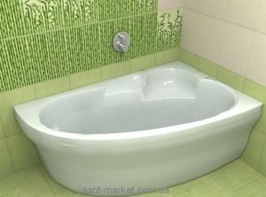 Ванна акриловая угловая Koller Pool коллекция Liona R 150х95х45