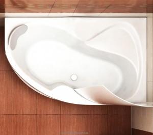 Ванна акриловая угловая Koller Pool коллекция Montana R 160х105х47