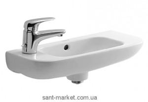 Раковина для ванной подвесная Duravit D-code 50х22х13.5 белая 07065000092