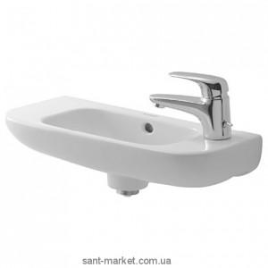 Раковина для ванной подвесная Duravit коллекция D-Code белая 07065000082