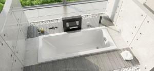 Ванна акриловая прямоугольная Duravit коллекция D-Code 170х75х42 700100000000000