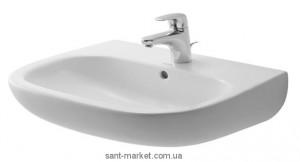 Раковина для ванной подвесная Duravit коллекция D-Code белая 23106000002