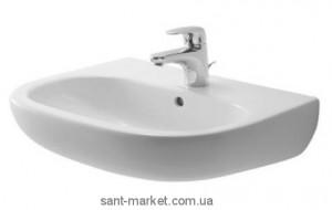 Раковина для ванной подвесная Duravit коллекция D-Code белая 07054500002