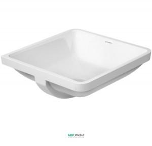 Раковина для ванной встраиваемая Duravit коллекция Starck 3 белая 0305490000