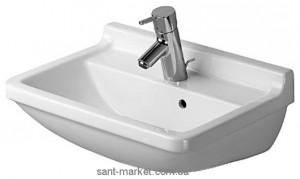 Раковина для ванной подвесная Duravit Starck 3 50х36х18 белая 0300500000