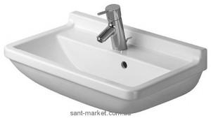 Раковина для ванной подвесная Duravit Starck 3 Compact 60х37х18 белая 0301600000
