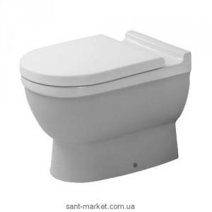 Унитаз напольный приставной Duravit коллекция Starck 3 0124090000