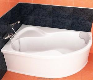 Ванна акриловая угловая Koller Pool коллекция Montana L 170х105х47