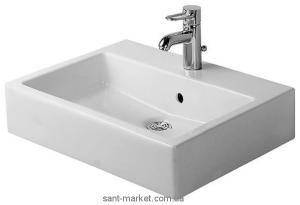 Раковина для ванной подвесная Duravit Vero 59.5х46.5х17.5 белая 0452600000
