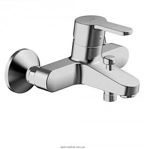 Смеситель однорычажный для ванны с коротким изливом Hansa коллекция Primo хром 4944 2103