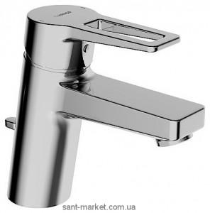 Смеситель для раковины однорычажный с донным клапаном Hansa колекция Twist хром 0909 2285