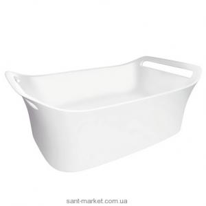 Раковина для ванной накладная Hansgrohe коллекция Axor Urquiola белая 96120000