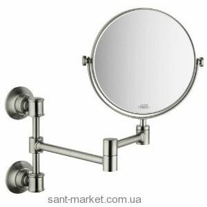 Hansgrohe AXOR MONTREUX Зеркало косметическое, Шлифованный никель 42090820