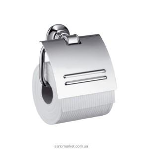 Hansgrohe Axor Montreux Держатель для туалетной бумаги, шлиф. никель 42036830