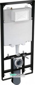 Система инсталляции для подвесного унитаза AlcaPlast Sadromodul Slim 59х121х14 A1101/1200