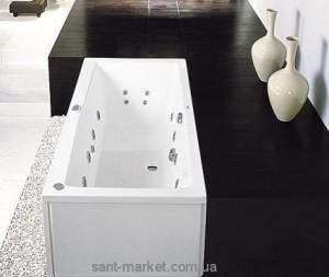 Ванна акриловая прямоугольная PoolSpa коллекция Vita 190х90х61 PWPH910ZN000000
