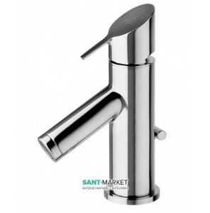 Смеситель для раковины однорычажный с донным клапаном Alpi SPA коллекция Go хром GO52176CR